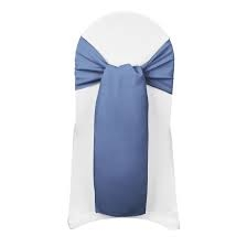 Chair Sash - Periwinkle