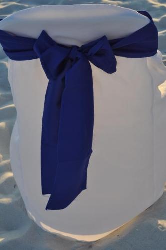 Chair Sash - Royal Blue