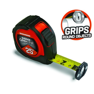 Swanson's Savage Gripline Tape Measure