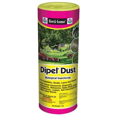 Dipel Garden Dust, Biological Insecticide, 1-Lb.
