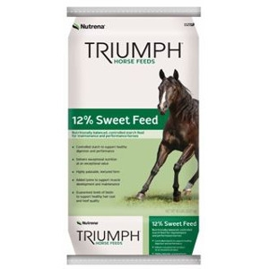 Nutrena, Triumph 12% Sweet Horse Feed