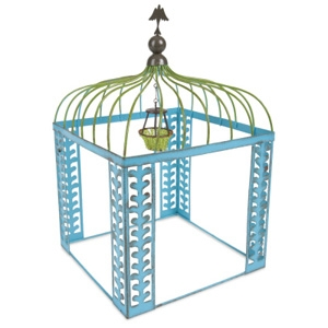 Magnetic Works, Ltd Mini Blue Vine Gazebo w/ Chandelier
