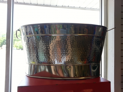 Stainless Steel Oval Bucket