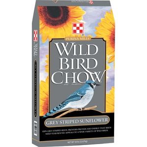 Purina® Wild Bird Chow Grey-Striped Sunflower