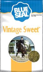 Vintage Sweet Horse Feed