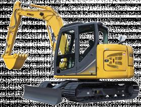 SK 85 Mini Excavator