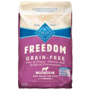 BLUE Freedom® Grain-Free Large Breed Adult Beef Recipe