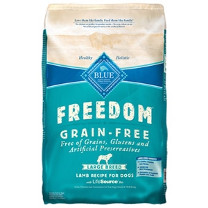 BLUE Freedom® Grain-Free Large Breed Adult Lamb Recipe
