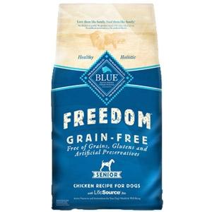 BLUE Freedom® Grain-Free Senior Chicken Recipe