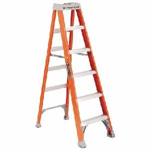 Fiberglass Step Ladder - 10 Ft.