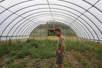 9/24: Hoop Houses - Large and Small