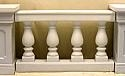 Balustrade, 4 post