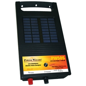Power Wizard Solar Powered Fence Charger