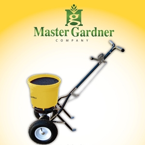 Master Gardner Pro Broadcast Spreader