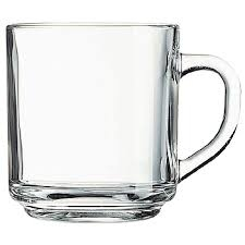 GLASS, COFFEE MUG