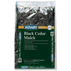 Agway, Black Cedar Mulch 3 Cuft