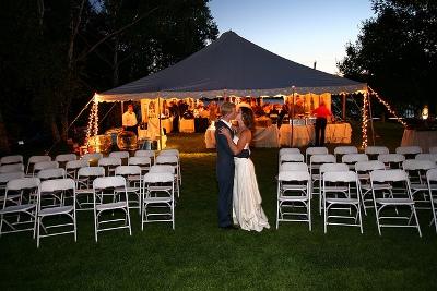 String Tent Lighting