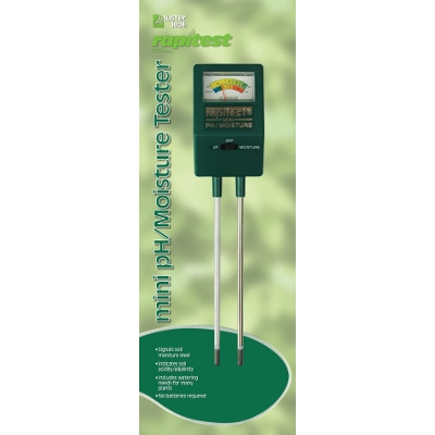 Luster Leaf Rapi-Test Mini pH/Moisture Tester