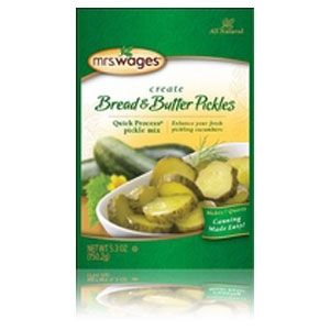 Mrs. Wages Quick Process Bread & Butter Pickle Mix