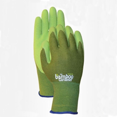 LFS Bellingham The Bamboo Gardener Rubber Palm Gloves