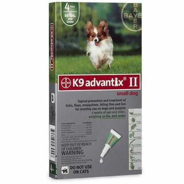 K9 Advantix for Small Dogs