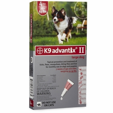 K9 Advantix for Large Dogs
