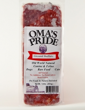 Oma's Pride Frozen Ground Buffalo 1 lb