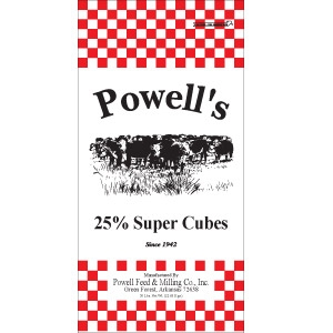 Powell's 25% Super Cube