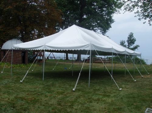 20 x 40 DIY Canopy Tent