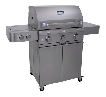 Saber® Stainless Steel 500 LP Grill