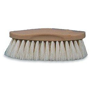 Decker's Showman-White Grip-Fit® Horse Brush