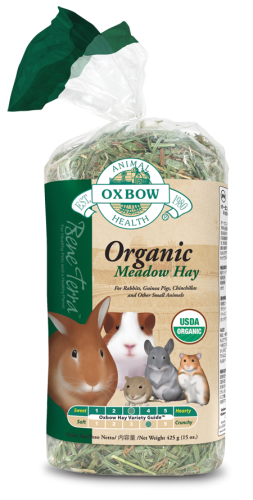 Oxbow Bene Terra Organic Meadow Hay 15 oz