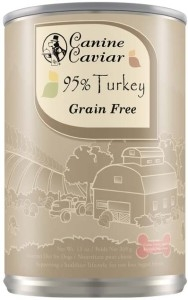Canine Caviar 95% Turkey Canned Dog Food