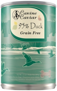 Canine Caviar 95% Duck Canned Dog Food