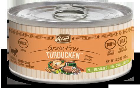 Merrick Classic Small Breed Turducken Can Dog Food 3.2oz