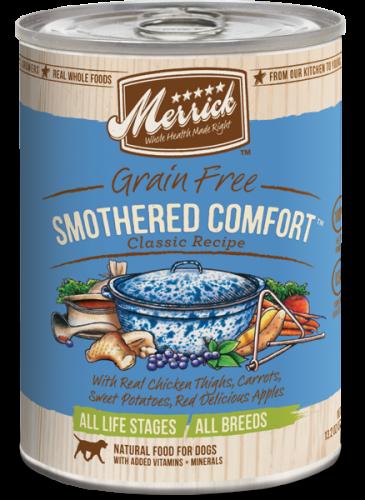 Merrick Smothered Comfort Can Dog 13.2 oz.