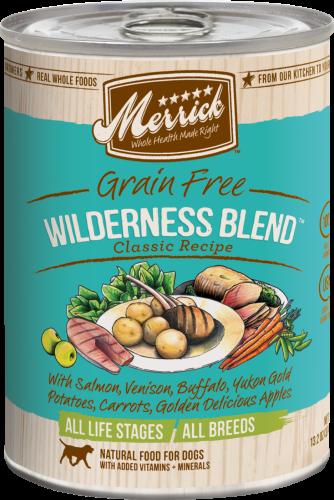 Merrick Wilderness Blend Can Dog 13.2 oz.