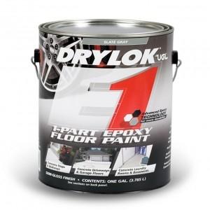 Drylok e1 1 part epoxy floor paint morristown lumber for 1 part epoxy floor paint