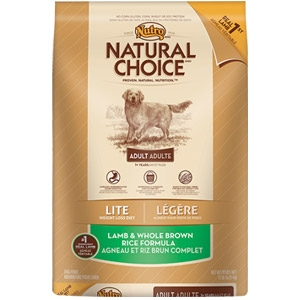 Natural Choice® Lite Adult Dog Food with Lamb & Whole Brown Rice Formula