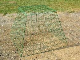 Triangle Poultry Pen