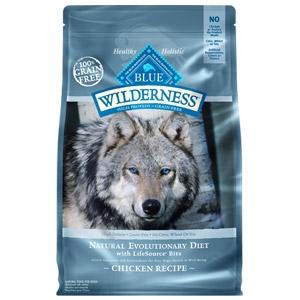BLUE Wilderness® Grain Free Adult Chicken Recipe Dog Food