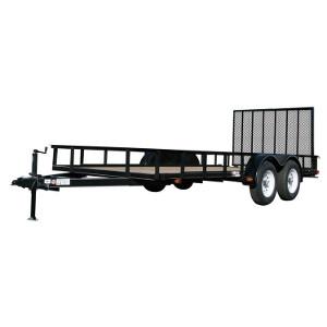 Carry On Trailer, 7X12GW2BRK 7000 lb. GVWR Heavy Duty Utility Trailer