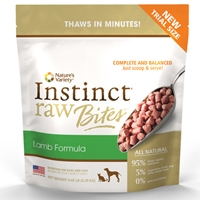 Nature's Variety® Instinct® Raw Frozen Bites Lamb Formula