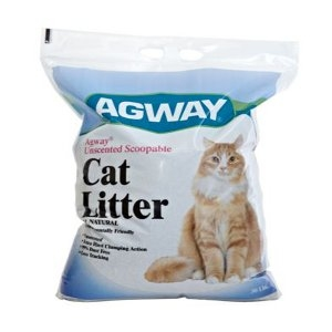 Agway Unscented Scoopable Cat Litter All Natural 30 Lb