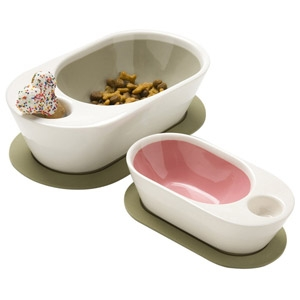Wetnoz Zen Pet Bowl - Medium Sand
