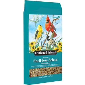 Feathered Friend Shell Less Select Bird Seed