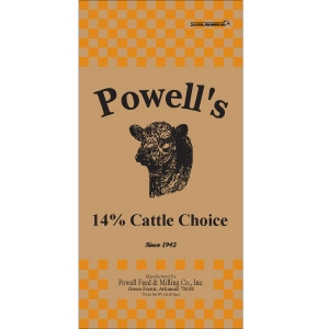 Powell's Cattle Choice Pellet 14%
