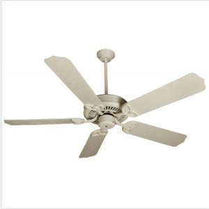 "Craftmade 52"" Ext Patio Fan White W/B552 Solok Blades"