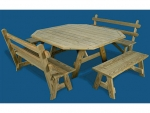 4' x 5'  Picnic Table