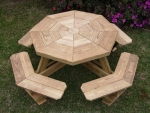 Octagonal Picinic Table